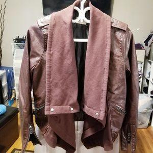 Jolt Vegan Leather blazer/jacket